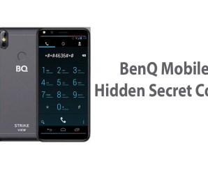 All BenQ Mobile Hidden Secret Codes List