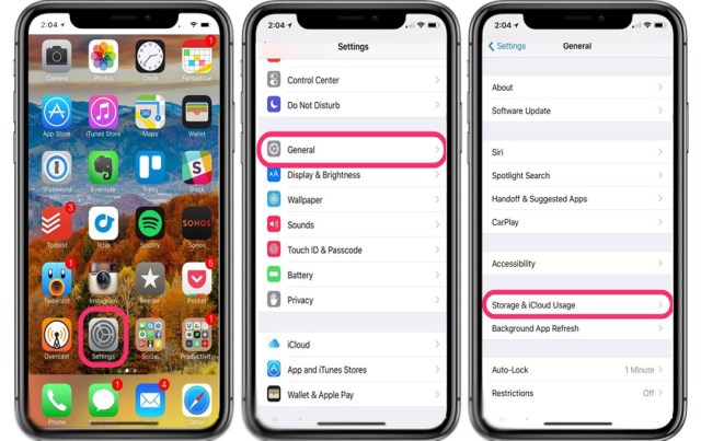 delete apps from Settings