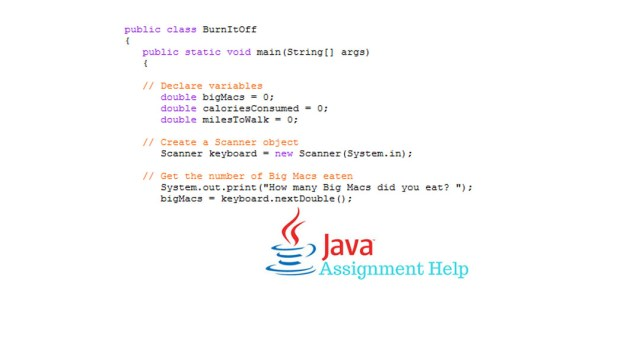 Java assignments
