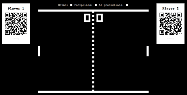 Pong multiplayer game