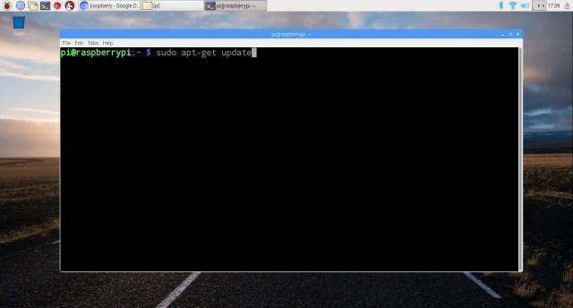 Raspbian update
