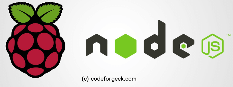 Nodejs and raspberryPI