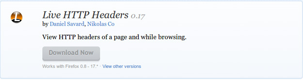 Live-HTTP-Headers-Add-ons-for-Firefox