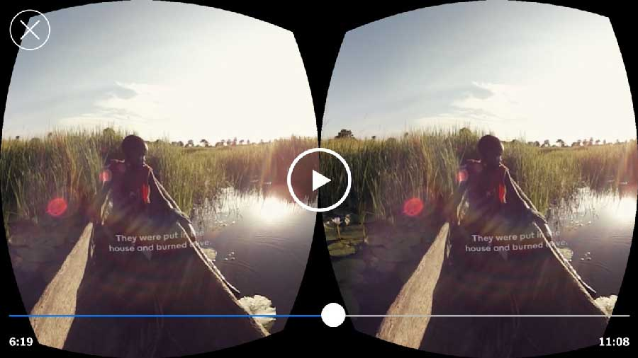 Even New York Times has it's own VR app. Download the app for free today to experience short documentary likes videos.