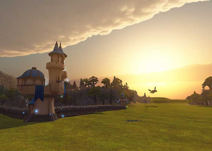 To walk through this amazing virtual world download siegecraft VR for free today!