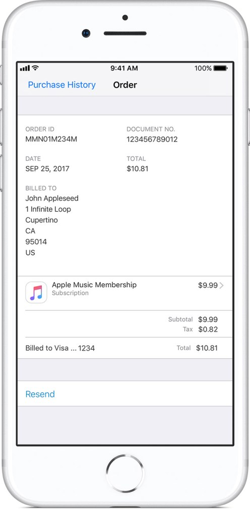 ios11-iphone8-settings-apple-id-itunes-app-store-view-apple-id-purchase-history-order-id-info