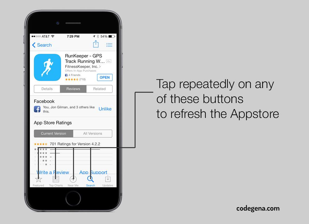 refresh-Appstore