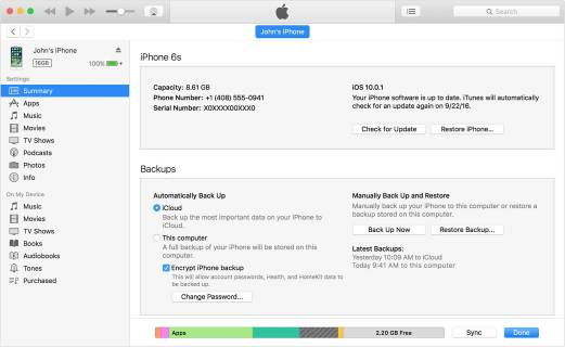 restore-iphone-with-itunes
