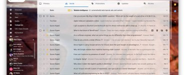 The gmail website has received a massive design and feature update