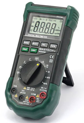 A great value fully functioned digital meter, the Mastech MS8268.