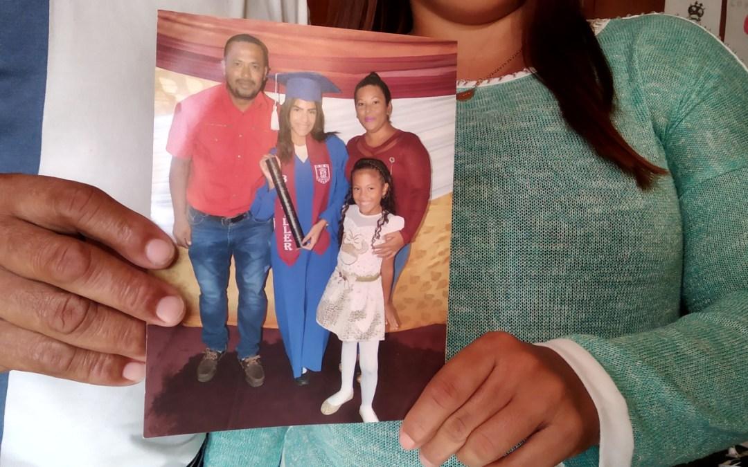 Familiares de Nadiuska Sifontes anhelan su regreso y respuestas por parte del Estado