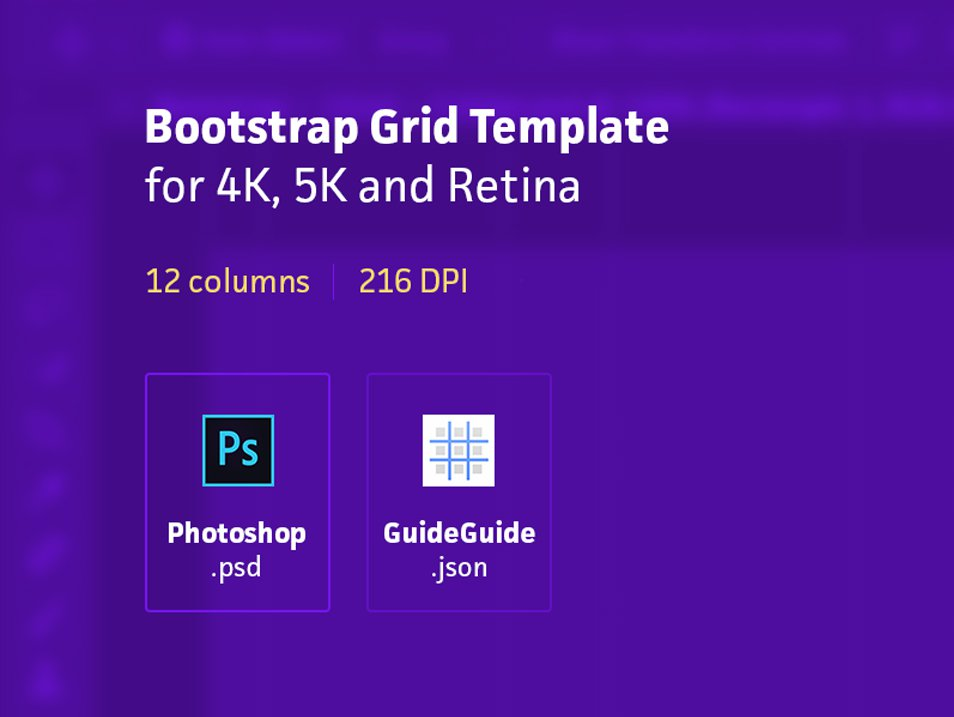 Codehints | 25+ Bootstrap Grid System PSD Templates — Codehints