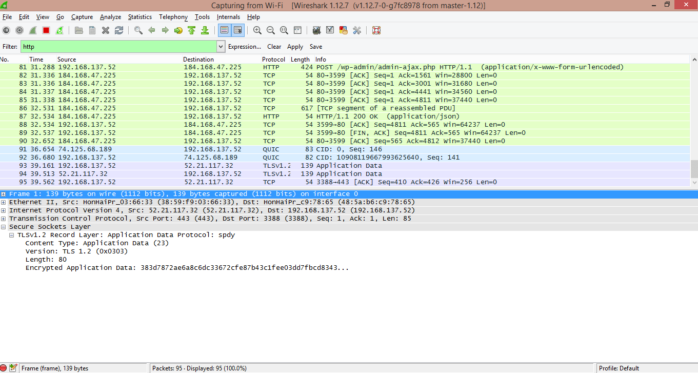 How to capture traffic using Fiddler and Wireshark - Code Hotfix