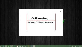 Separator control in C#