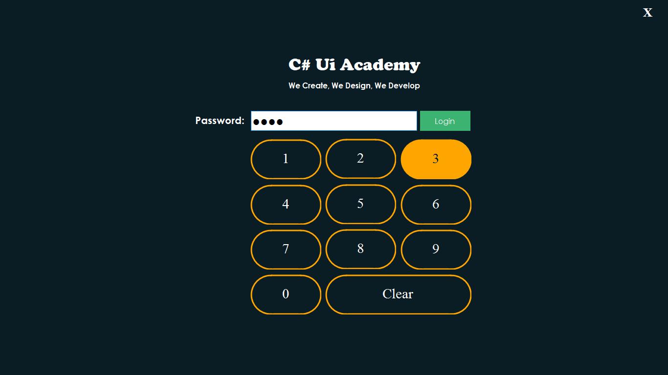 Custom Round Button in C#