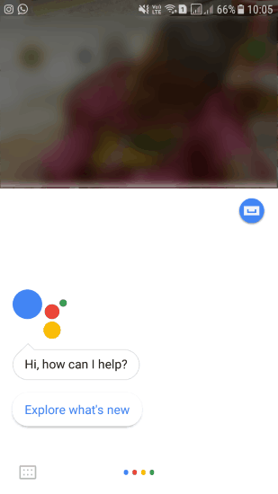 trigger google assistant by saying ok google