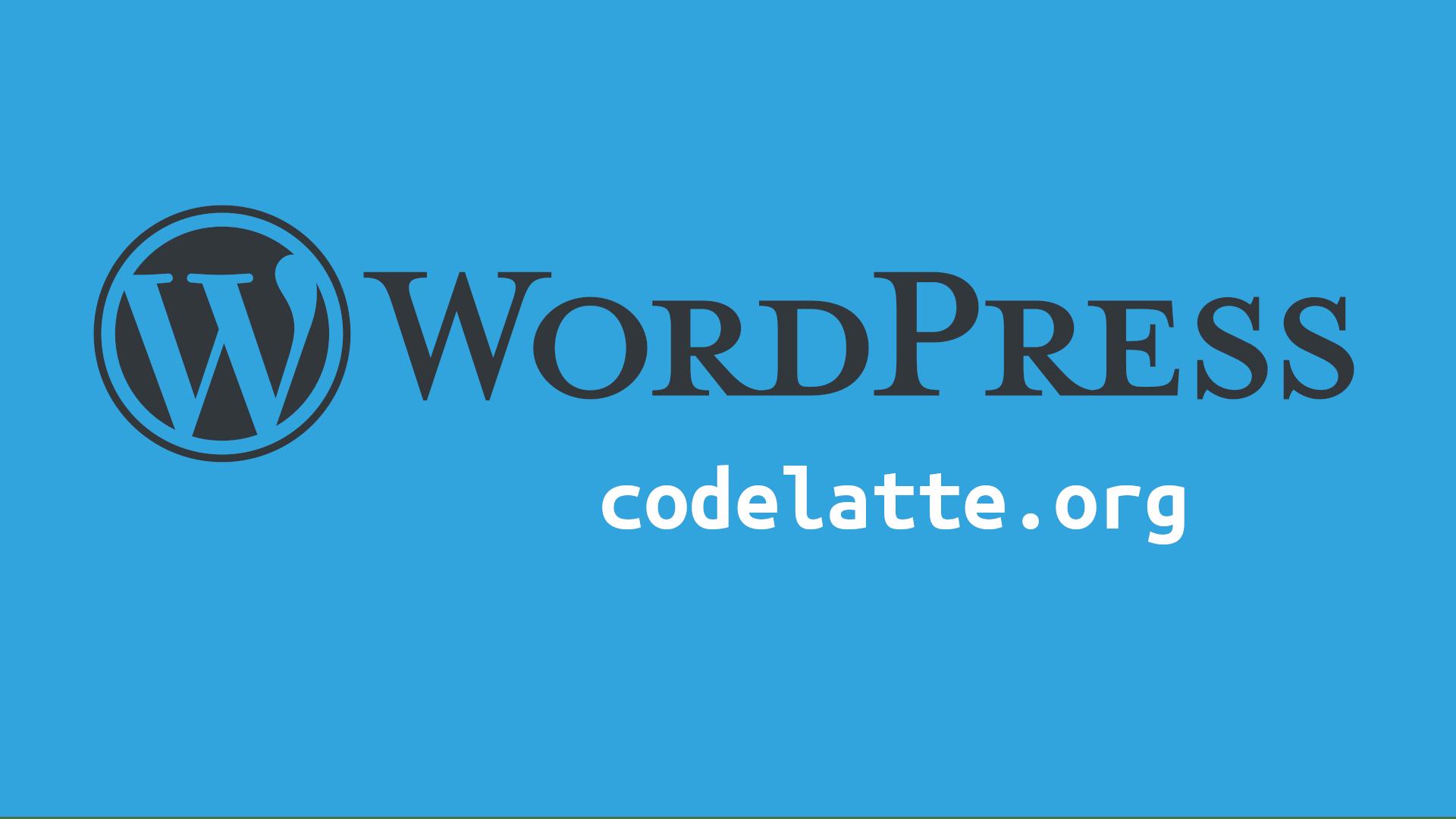 Mengganti Logo WordPress (Dashboard)   Belajar WordPress - CODELATTE