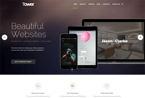 Tower Agency WordPress Theme