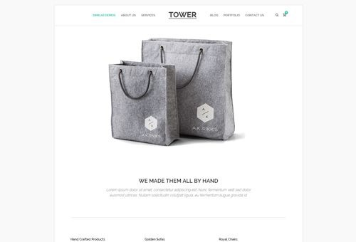 Tower Micro WordPress Theme