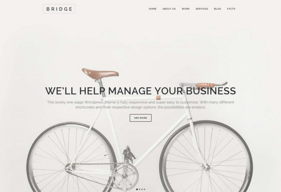Bridge Creative Multi Purpose WordPress Theme-compressed