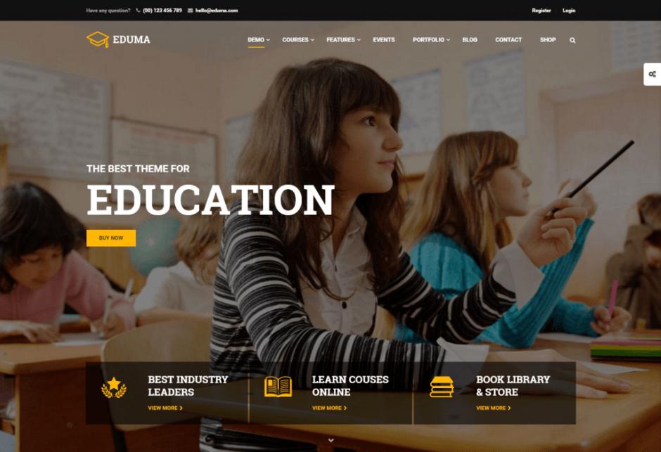 -1 Education WordPress Theme for 2016