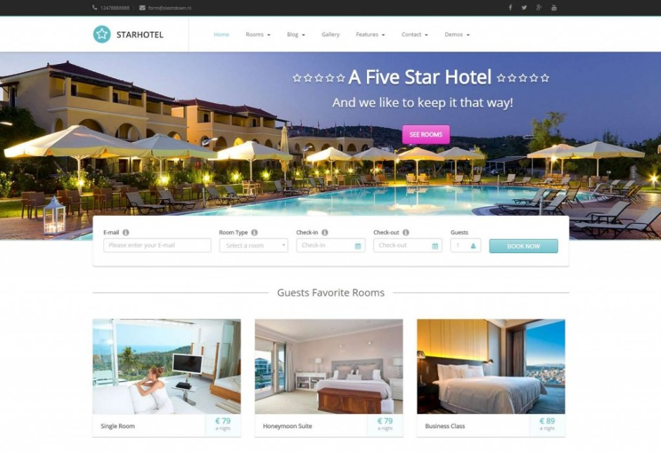 20+ Best Travel WordPress Themes for Hotels & Agencies | Codeless