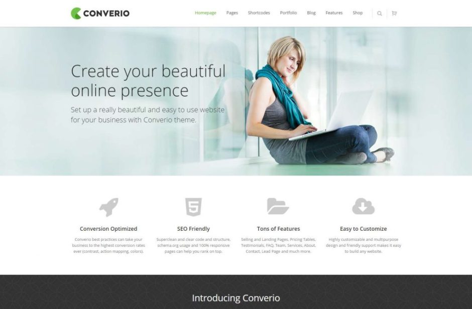 Converio Converting WordPress Theme-compressed