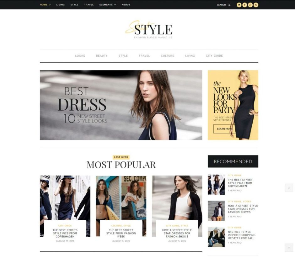 15 Best Fashion Blog Magazine Wordpress Themes 2020