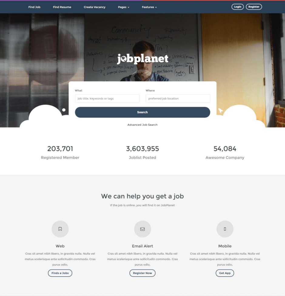 jobplanet-responsive-job-board-wordpress-themes