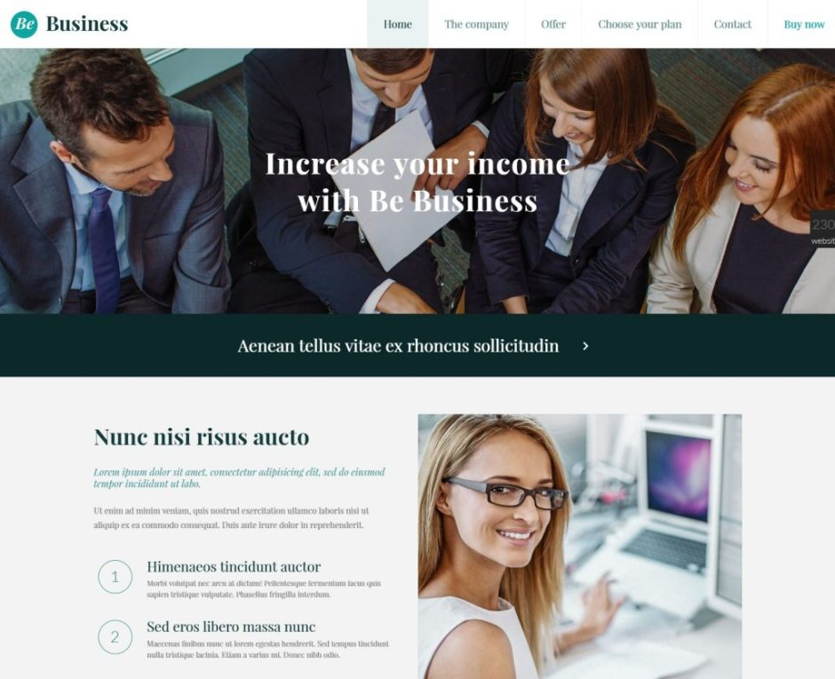 Betheme business