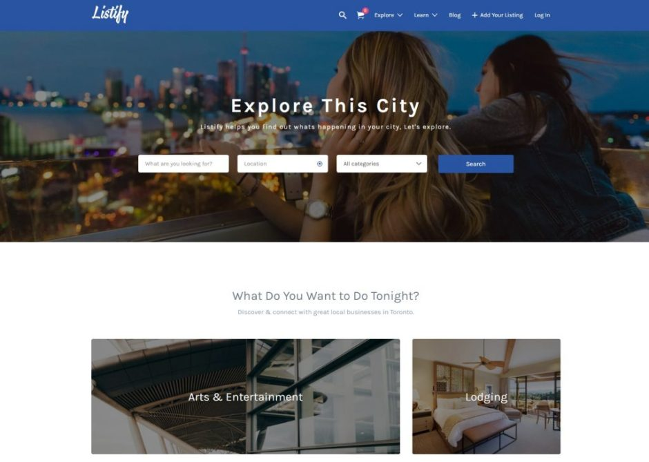 Listify Classic – The last WordPress directory theme you will ever buy-compressed