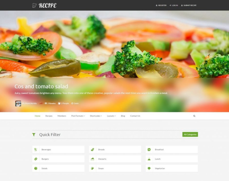 Recipe – The Most Complete Recipe WP Theme-compressed