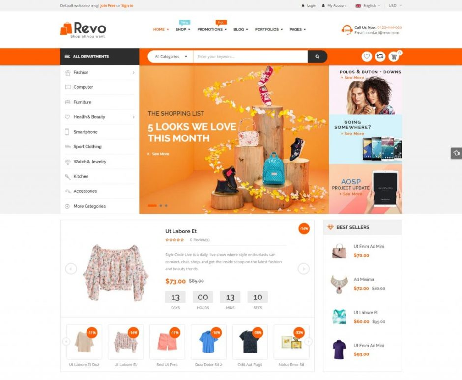 SW Revo Responsive WooCommerce Fashion WordPress Theme-compressed