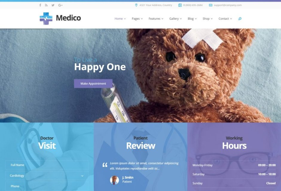 WP Medico – Just another WordPress site-compressed