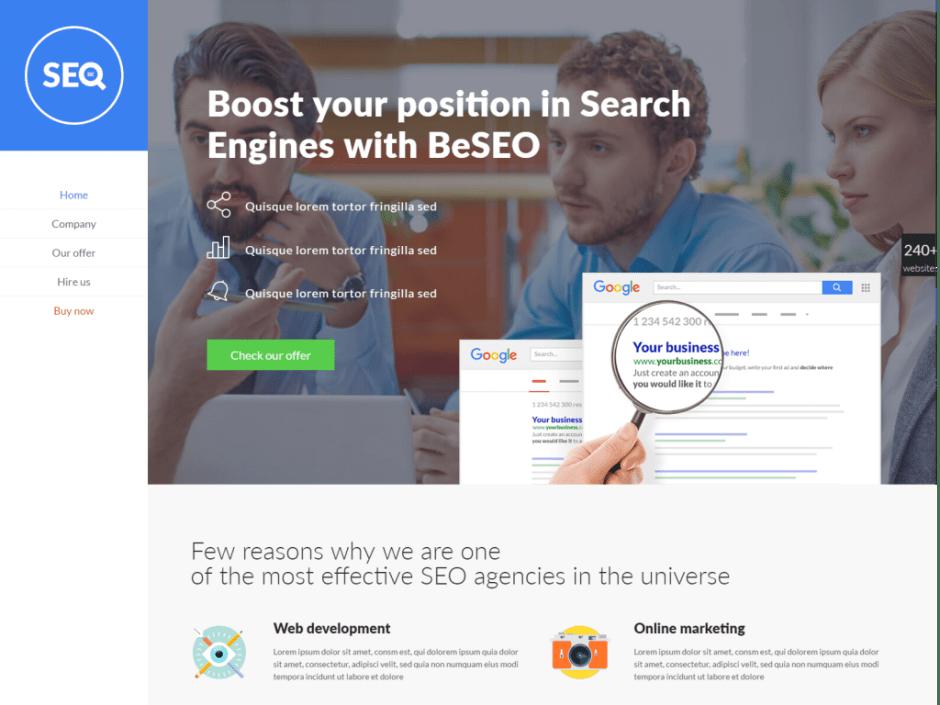 BeSEO 2 – BeTheme