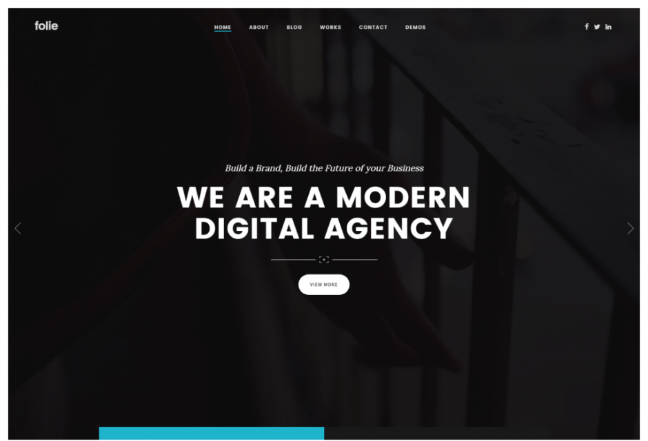 Folie – Creative Agency WP Template – Just another WordPress site