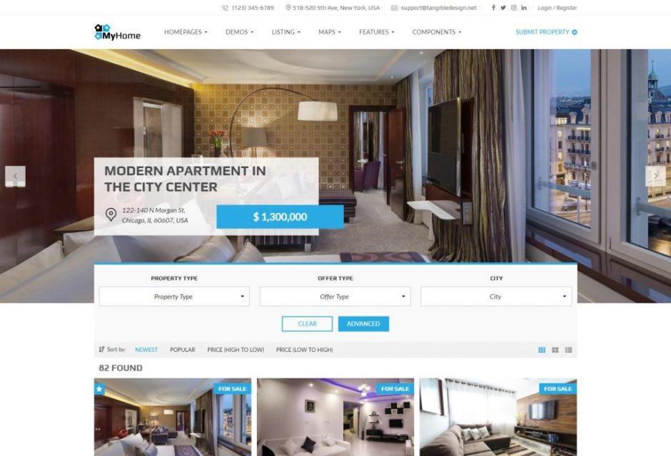 MyHome – Premium Real Estate Theme-compressed