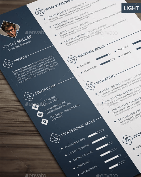 The CV by CodePower GraphicRiver