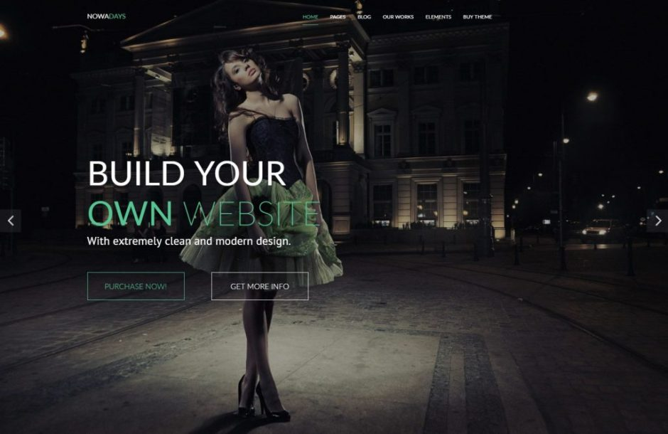 Nowadays WordPress Theme – Not just another WordPress Theme-compressed