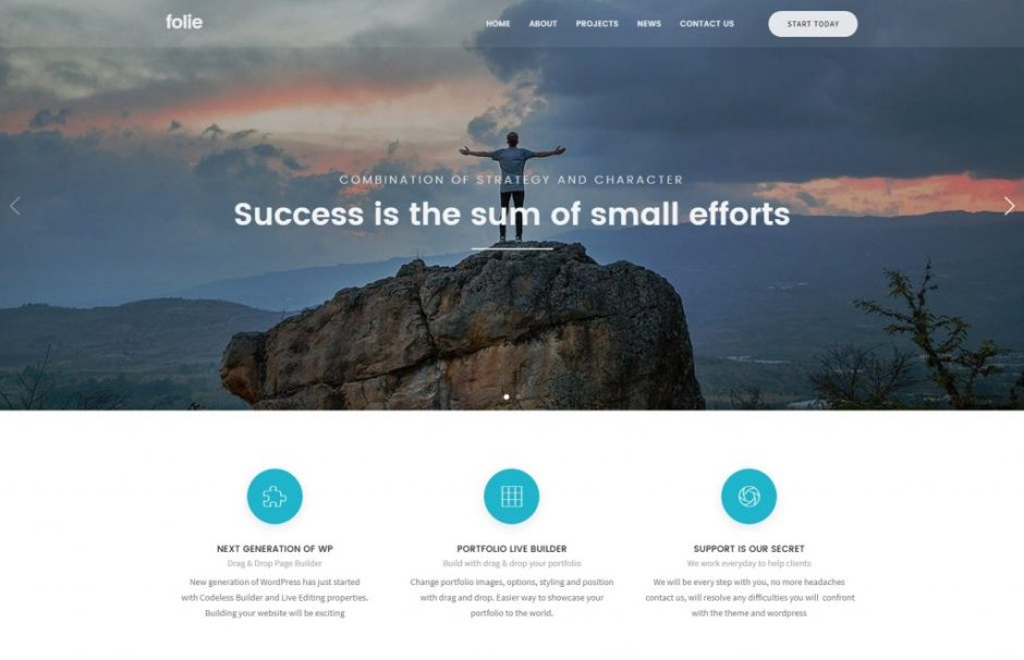 Folie – Small Businesses WP Template – Just another WordPress site-compressed