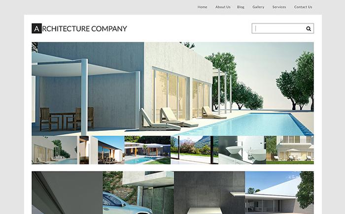 Architect's Bureau WordPress Theme