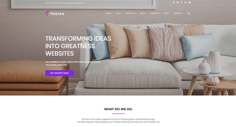 10+ Best Furniture WordPress Theme with WooCommerce - Codeless