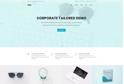 Folie Corporate WordPress Theme