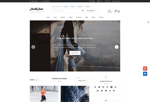 June Blog 3 WordPress Theme