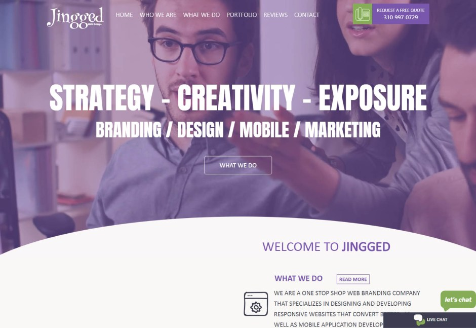 JINGGED - Best Web Agencies in Los Angeles