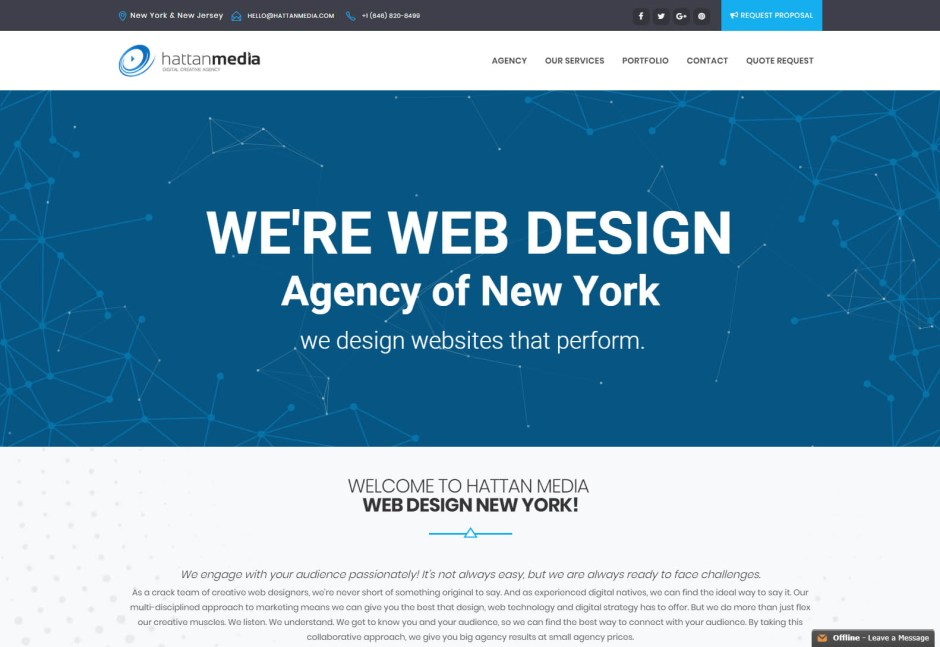 HattanMedia - Web Agencies in New York