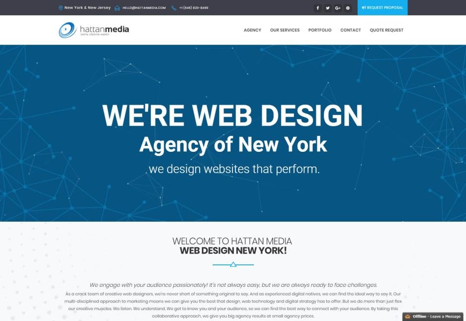 HattanMedia - Web Agencies in New York