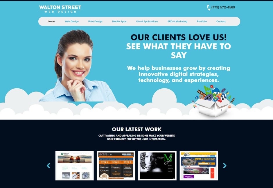 Walton Street Web Design - Web Agencies in Chicago