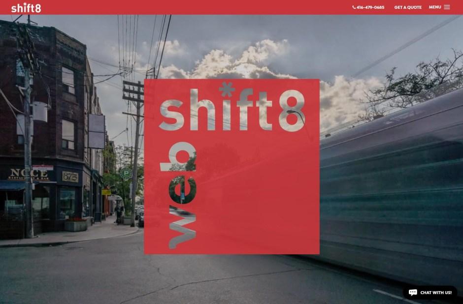 Shift 8 - Web Agencies in Toronto