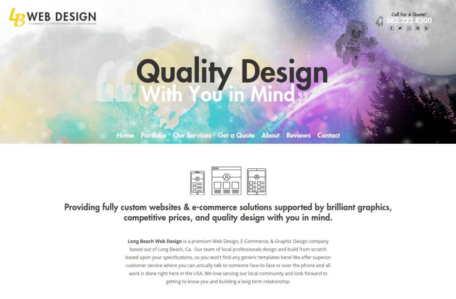 Long Beach Web Design- Web Agencies in California